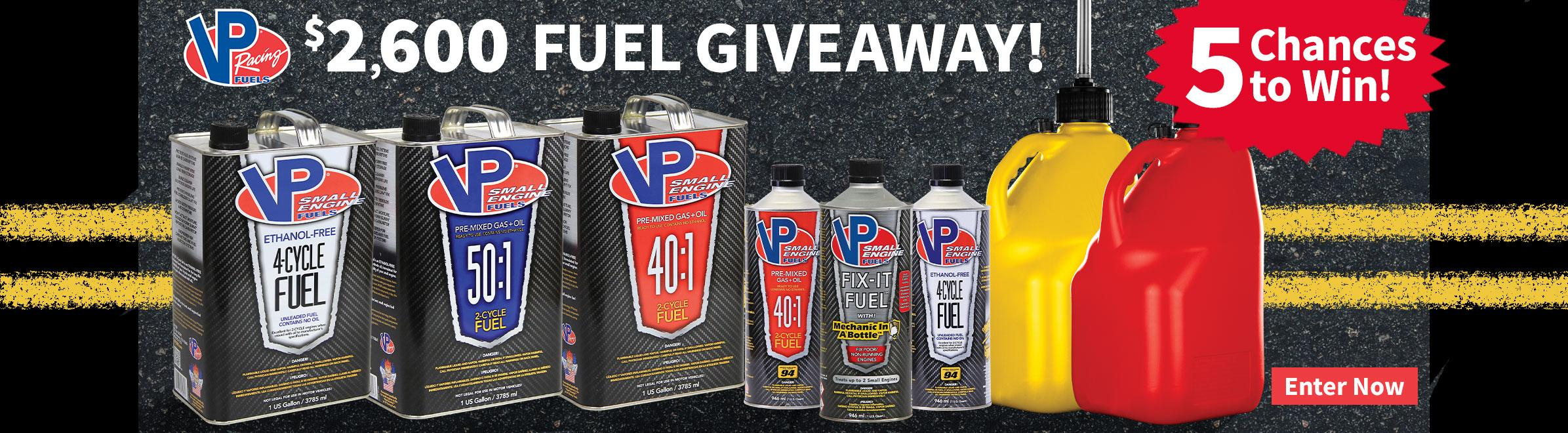 VP Fuels Giveaway