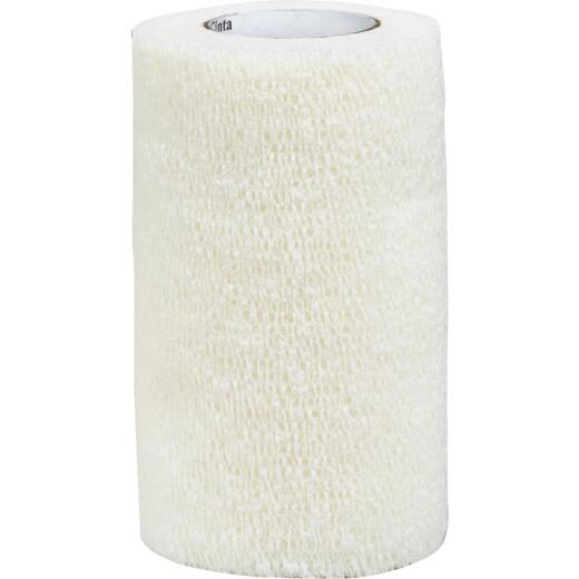 3M Vetrap 4 In. x 5 Yd. White Bandaging Wrap